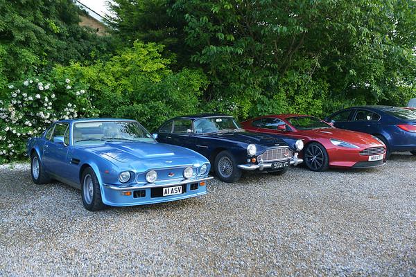 Aston Martin's 3 June 2014