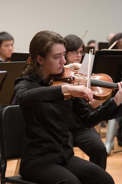 Lisa Rosinsky, violin -- Hopkins Symphony Orchestra, March 2008