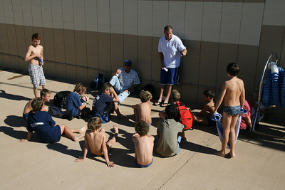 Ventura League Championship Tourney - Santa Barbara Water Polo Club 12U Boys vs South Coast B 11/15/08. Final score 16 to 2. SBWPC. Photos by Todd Bebb.