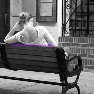 Asheville in black & white