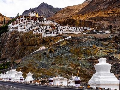 Monasteries - Diskit in the Nubra Valley