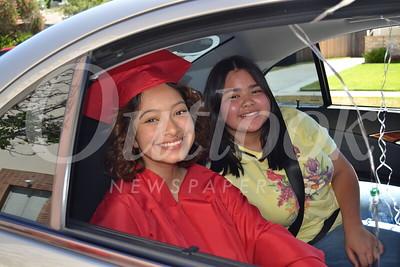 Burroughs High School Graduation Car Event