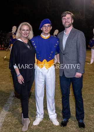 Broughton varsity football vs Cardinal Gibbons. Band and Dance Team Senior Night. October 25, 2019. MRC_3731