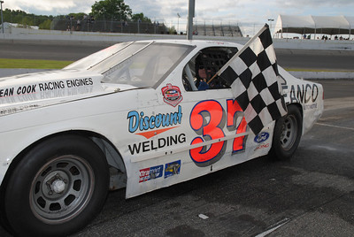Thompson 6-7-12 Victory Lane