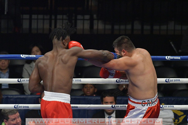 Efe Ajagba Defeats Rodney Hernandez by 5th Round TKO