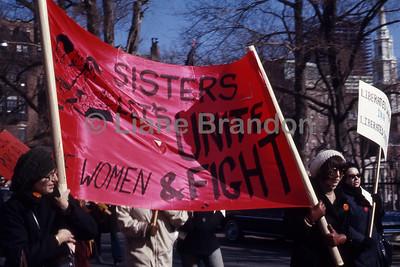 Women's March Boston 1970