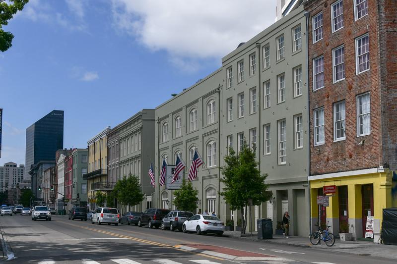 N. Peters Street Near Bienville Street