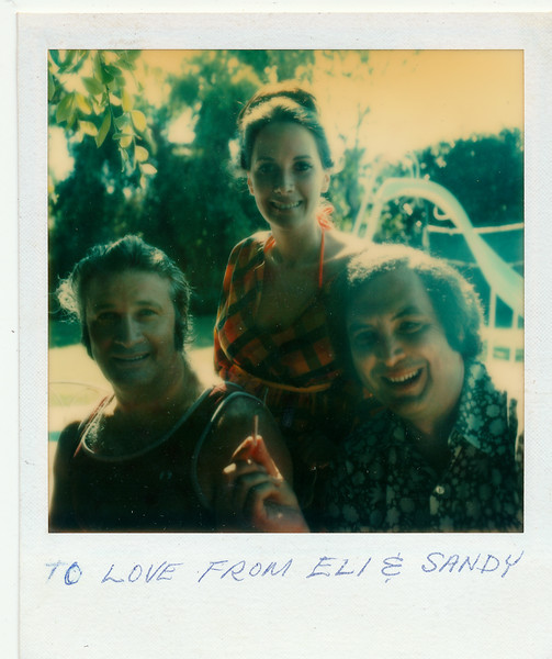 Eli, Nancy, Sandy Wein