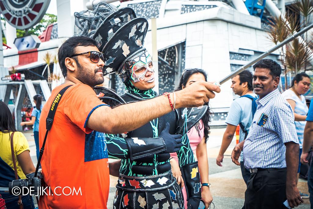 Universal Studios Singapore - Park Update May 2016 / Sci-Fi Selfie