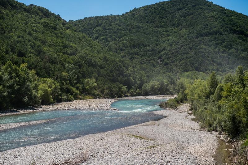 River near Jaca, Spain