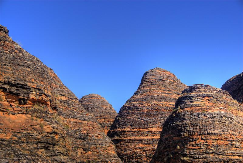 Bee Hive Domes, Purnululu National Park - Western Australia