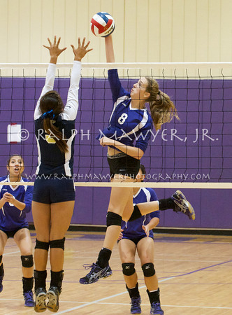 Volleyball - Boerne vs Holy Cross (2012)