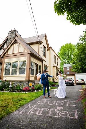 Maria + Joe | The Micro Wedding | 05.24.2020