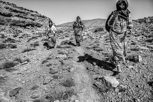accampamento berbero