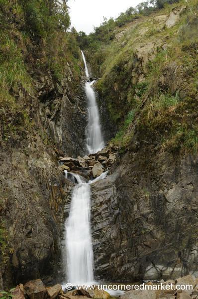 Waterfalls Everywhere - Day 3 of Salkantay Trek, Peru