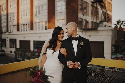 Adrian & Monica. Married.
