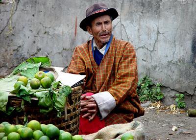 BHUTAN - THIMPHU WEEKEND MARKET