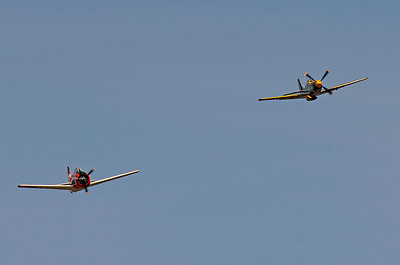 Vintage Wings West P51 & T-28