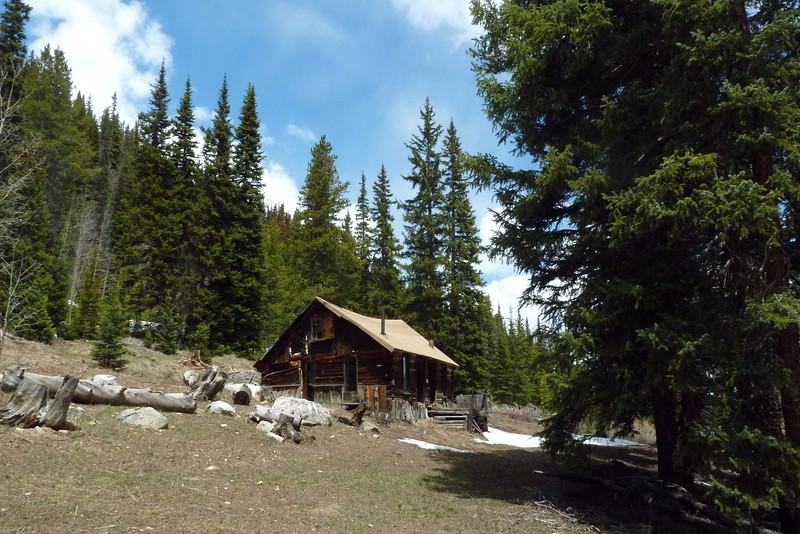 Breckenridge mining cabin