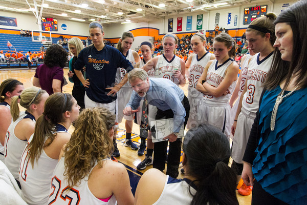Wheaton College Women's Basketball vs Illinois Wesleyan, February 22, 2014