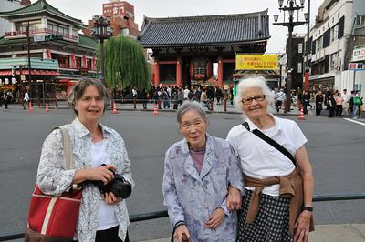 Asakusa with Maria and Baba