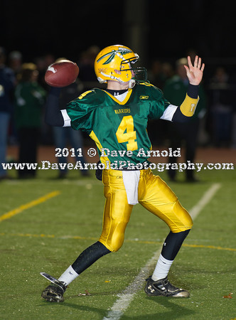 11/29/2011 - Varsity Football - MIAA Division 2 East Semi-final - King Phillip Regional vs Duxbury