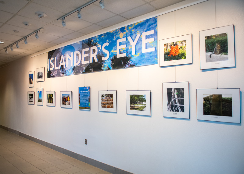 Make sure to check out the Islander's Eye photography exhibit on the second floor of the University Center.