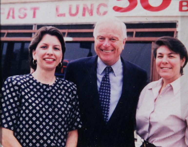 1998, Nancy, Mayor Riordan, and Pepper