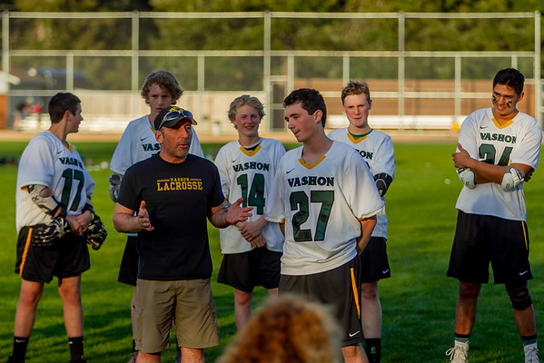 Vashon Vultures Lacrosse Seniors Night 2018