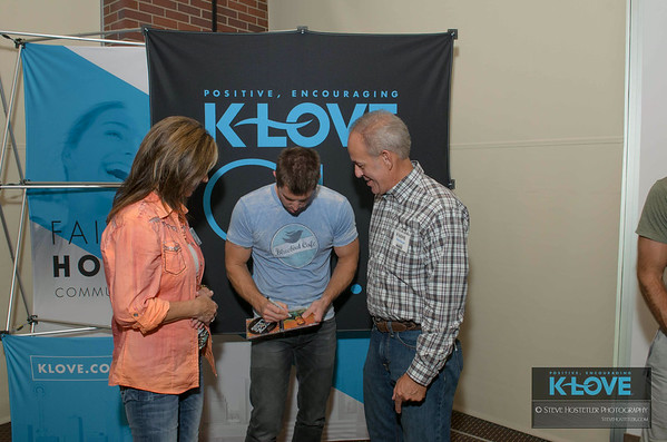 K-Love Day of Faith - Jeremy Camp M & G