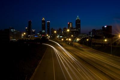 Atlanta at Night 2008
