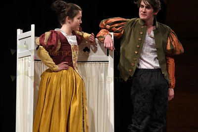 Iona and Lindisfarne Colleges: The Taming of the Shrew - Act II sc ii