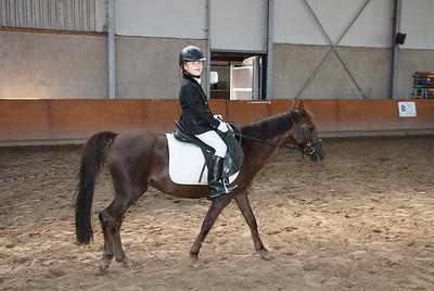 Paardrijwedstrijd Eloise Oktober