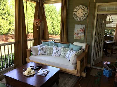 Cedar Swing Bed