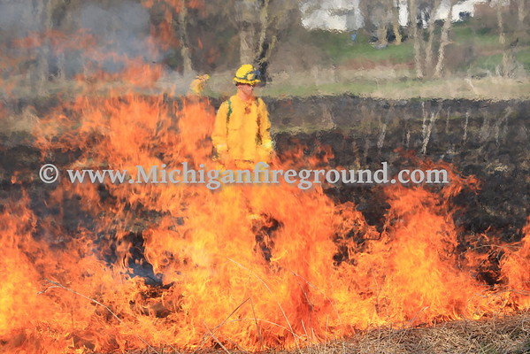 4/17/16 - Leslie wildland fire training