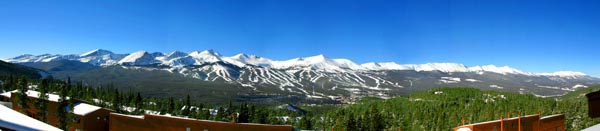 Wide angle of Breckenridge