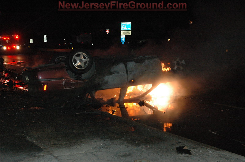 3-12-2009(Camden County)COLLINGSWOOD Rt. 130-M.V.A/Fire