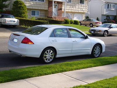 """Cathy""""s new Honda"""