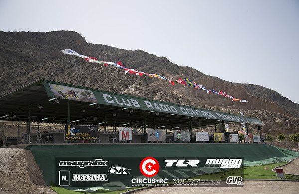 Euro A Redovan, Espagne: le circuit