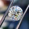 4.11ct Antique Cushion Cut Diamond, GIA N VS1 13