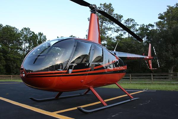 "2005 Robinson R-44 ""Raven II"", Kitty Hawk, 02Aug18"