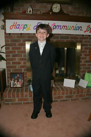 Logan's First Communion