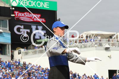 Band TaxSlayer Bowl Game Day 12.31.16