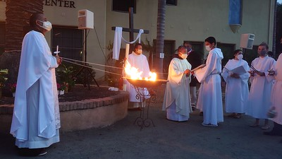 04-03-2021 Easter Vigil Group 1