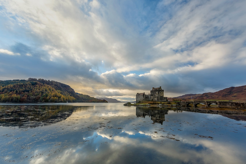Dramatic Clouds Over Eilean Donan Castle