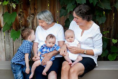 Grammy Wanda and Great Grandsons