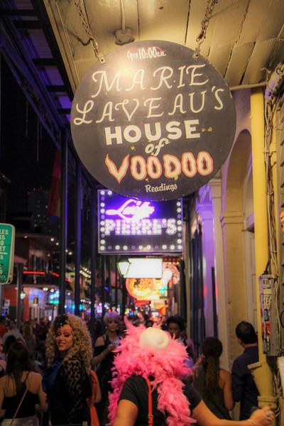 Marie Laveau's on Bourbon Street