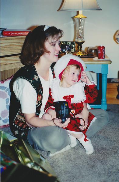 Jeannie and Breanna - Xmas 1998