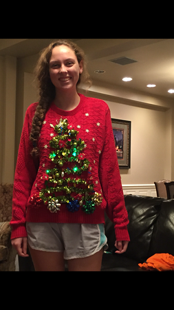 2015-12-10 Ugly Christmas Sweater