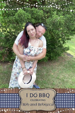 Rob & Rebecca Say I Do BBQ 9-7-19